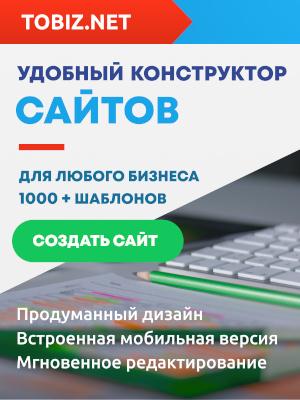 Конструктор сайтов TOBIZ.NET